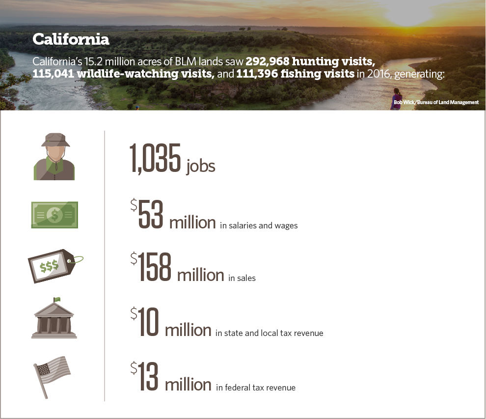 California: The Economic Contributions of Hunting, Fishing
