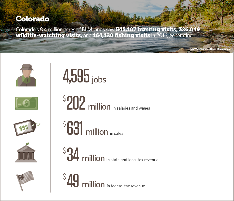 Colorado: The Economic Contributions of Hunting, Fishing