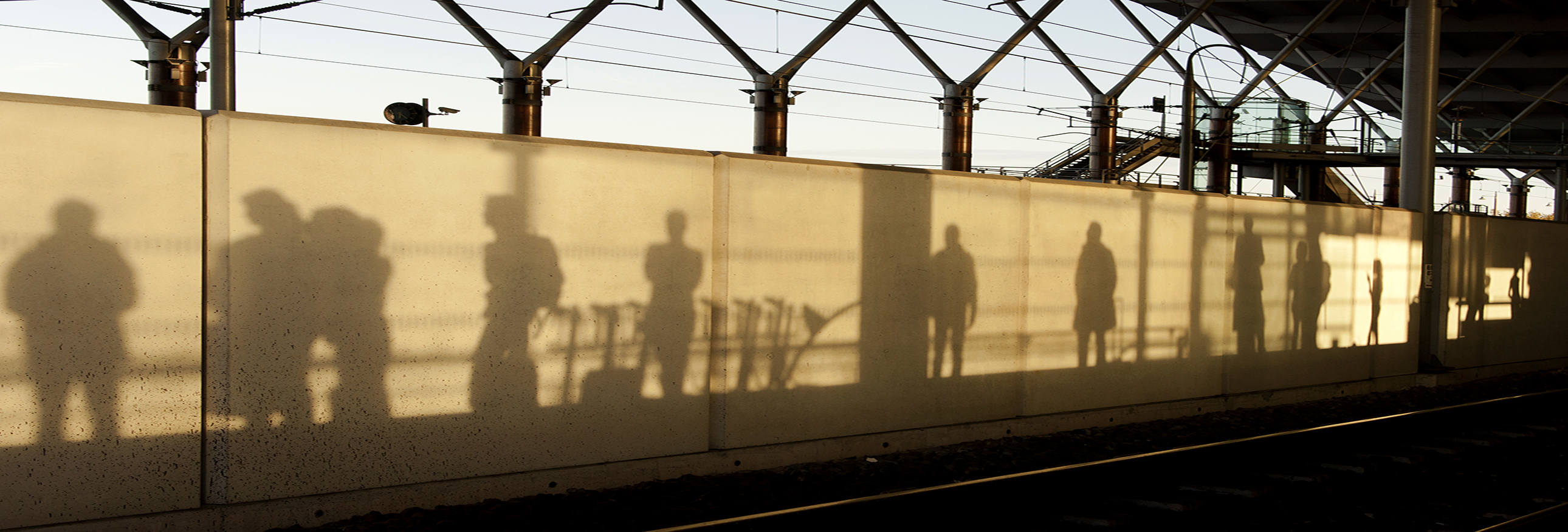 shadows on a wall