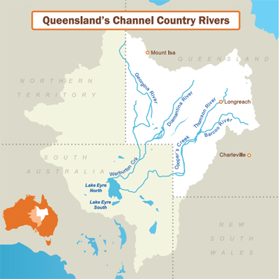 Queensland's Channel Country Rivers
