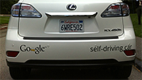 Google self-driving cars slideshow