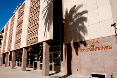 The Arizona House of Representatives' office, one of the buildings the state is considering selling as part of a sale-leaseback program to raise cash, would cost a private owner more than $18 million. Lawmakers would continue to occupy the building as the state leases it from the new owner for 20 years.
