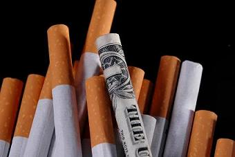Payments to states under the 1998 tobacco settlement are declining