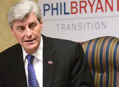 Governor Phil Bryant of Mississippi