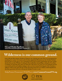 Wilderness is Our Common Ground, Bed and Breakfast