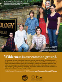 Wilderness is Our Common Ground, Sewanee