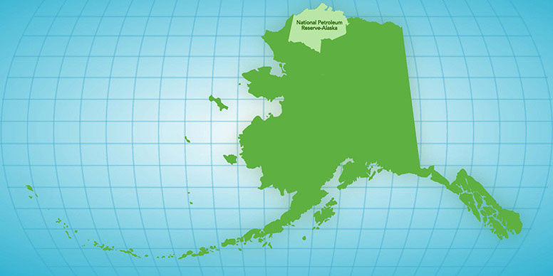 Where is the National Petroleum Reserve-Alaska?
