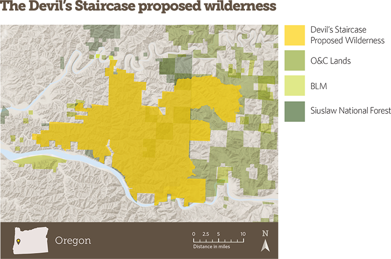 The Devil's Staircase proposed wilderness