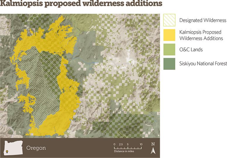 Kalmiopsis Proposed Wilderness Additions