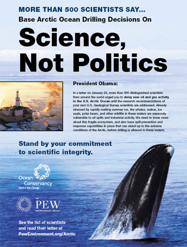 Base Arctic Drilling Decisions on Science, Not Politics