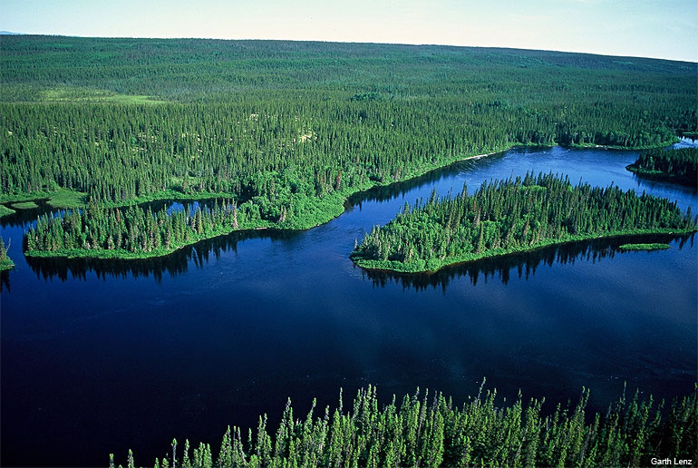 Temiscamie River in northern Quebec