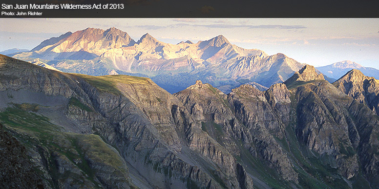 San Juan Mountains Wilderness Act of 2013 (S 341)