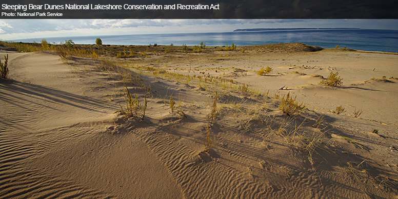 Sleeping Bear Dunes National Lakeshore Conservation and Recreation Act