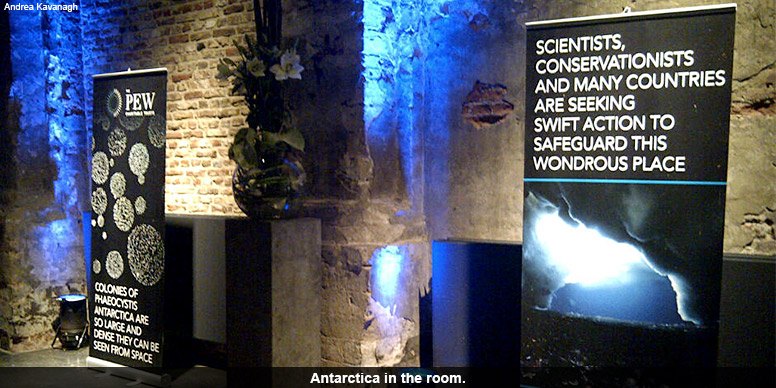 Antarctica in the room.