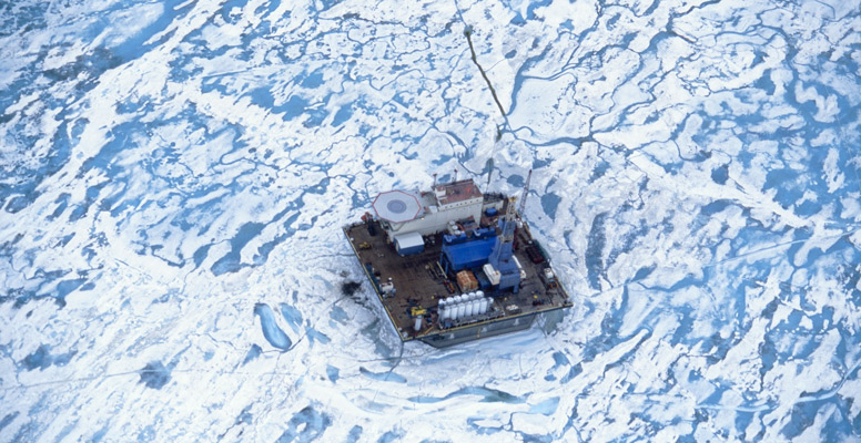 Drill-Rig-In-Ice