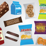 Snack Food Infographic