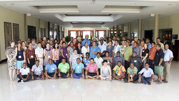 Group from CITES implementation workshop held in Nadi, Fiji.