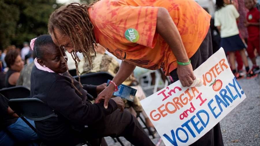 Early Voting in Georgia