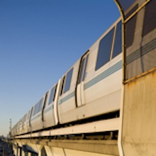 photo of BART train