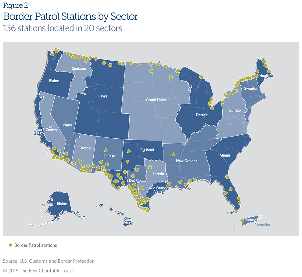 Immigration Enforcement Along U.S. Borders and at Ports of ...