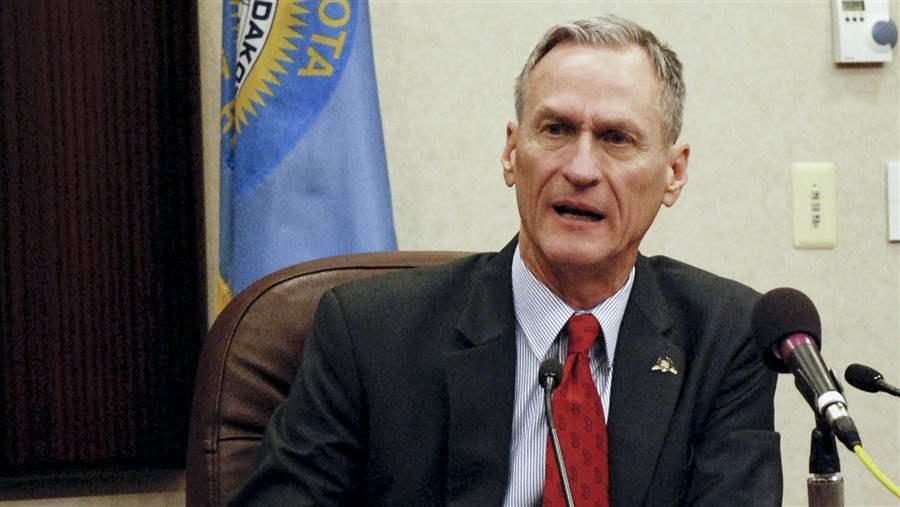 Republican South Dakota Gov. Dennis Daugaard