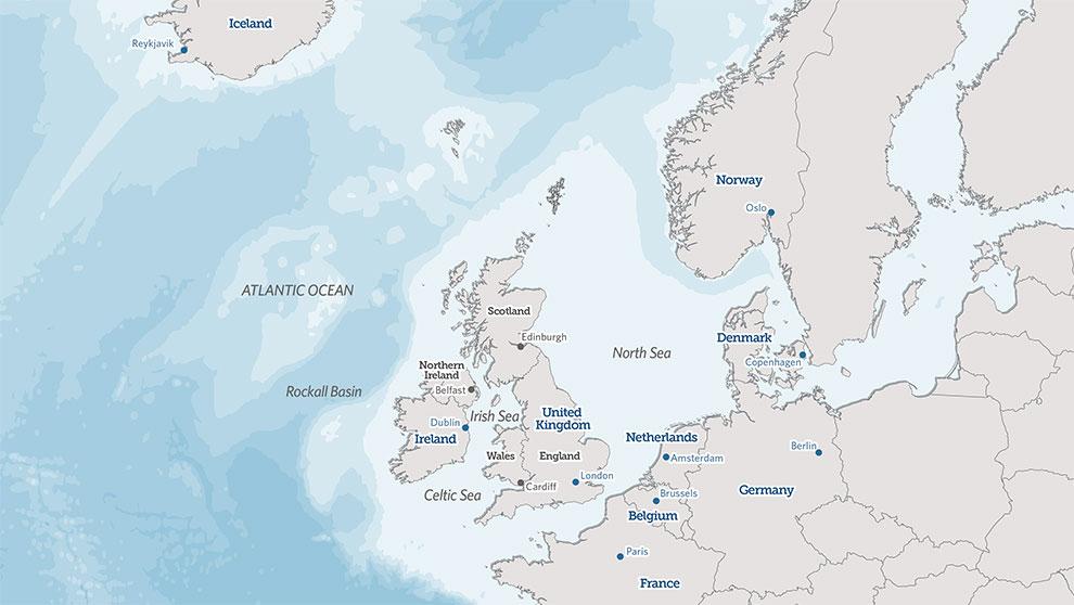north west european waters
