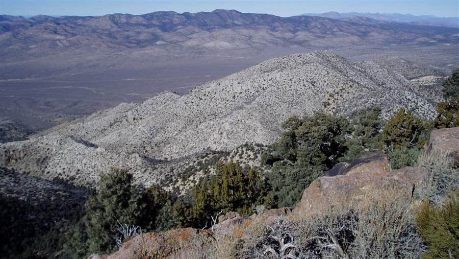 Nevada's Mount Irish Wilderness