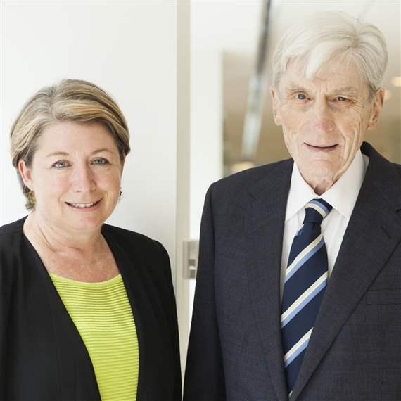 Sharon Burke and John Warner