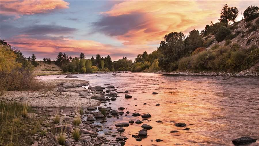 The Arkansas River in Colorado's Browns Canyon National Monument