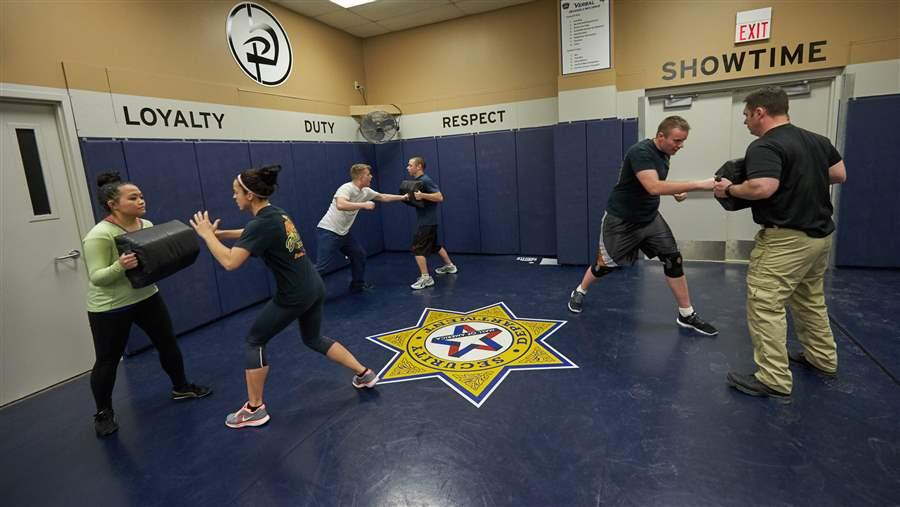 In Many States, Security Guards Get Scant Training