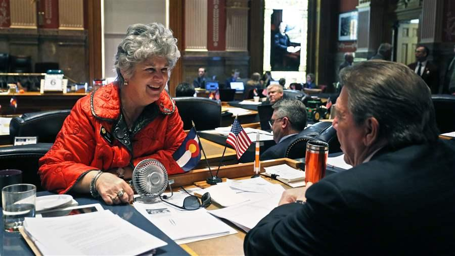 Colorado Democratic state Sen. Nancy Todd
