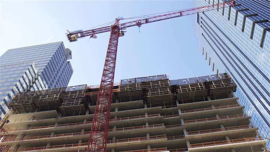 Philadelphia's residential building boom continues apace.