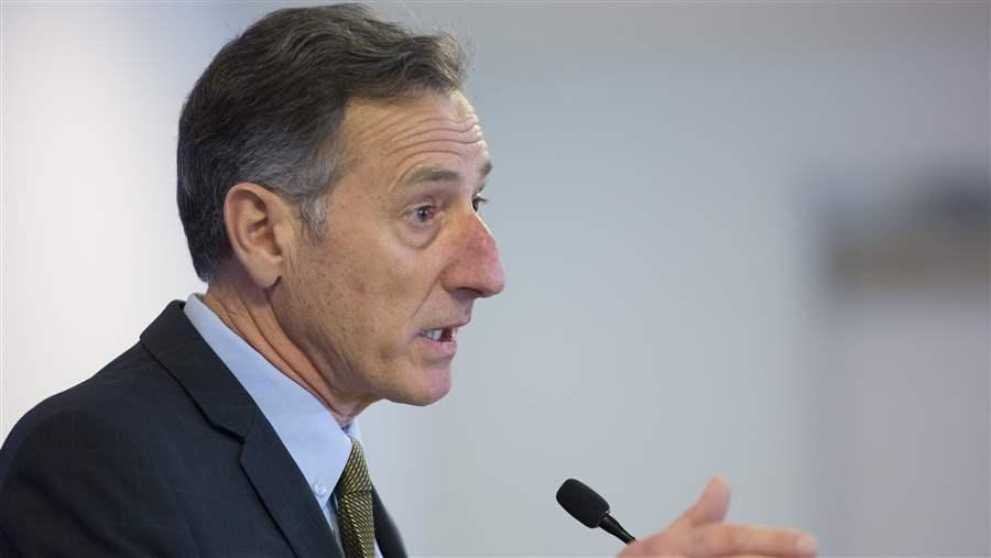 Vermont Governor Peter Shumlin speaks on opioid addiction