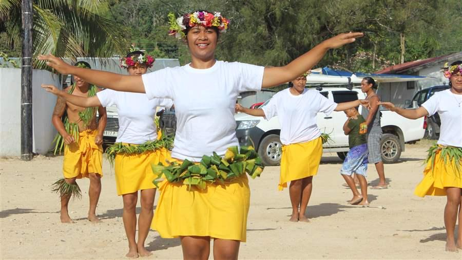 The Austral Islands' culture is heavily impacted by the ocean