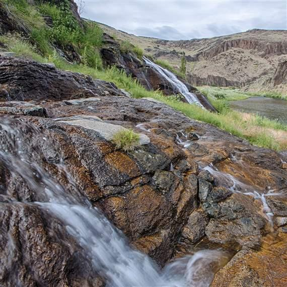 The Owyhee River in Oregon is protected by the Bureau of Land Management
