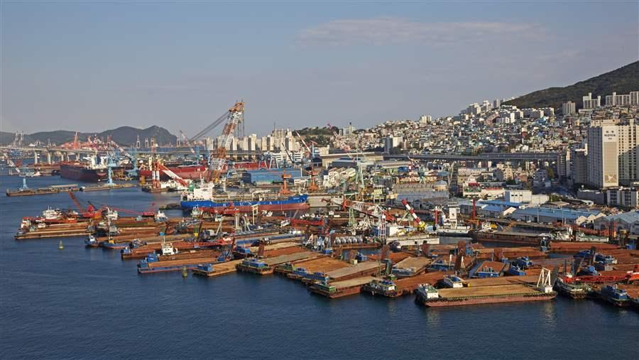 Korean port