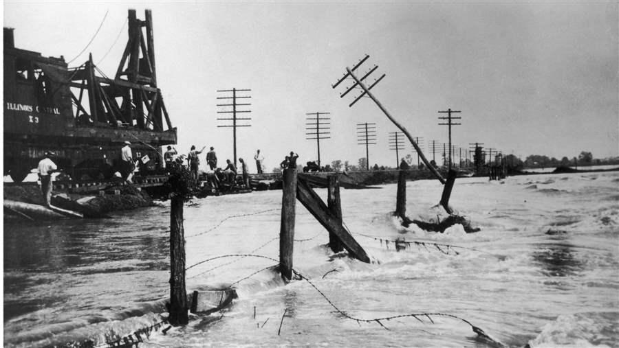 The Great Mississippi River Flood of 1927