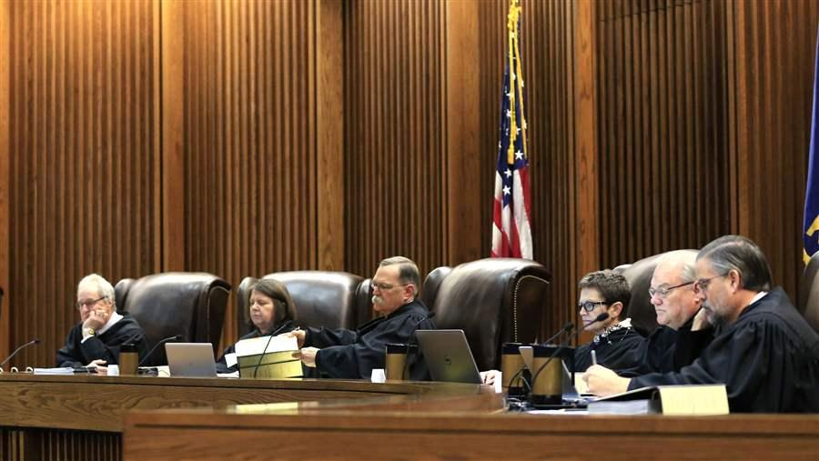 Millions of dollars are being spent in state supreme and appellate court races, which raises questions about whether judicial impartiality is being compromised