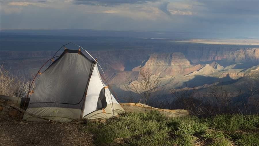 Grand Canyon campers
