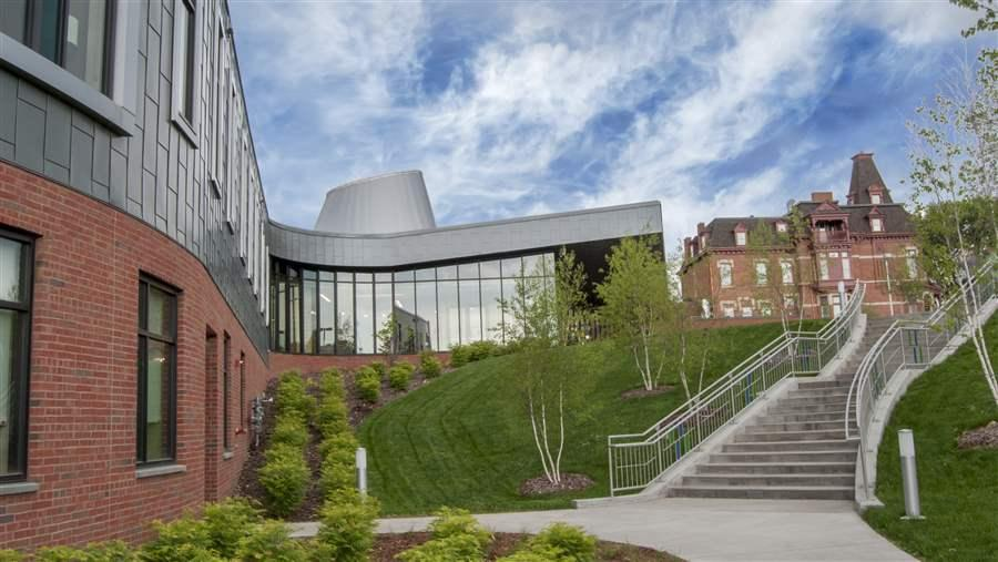 The Hazelden Betty Ford Foundation's newly renovated 55,000 square-foot facility in St. Paul
