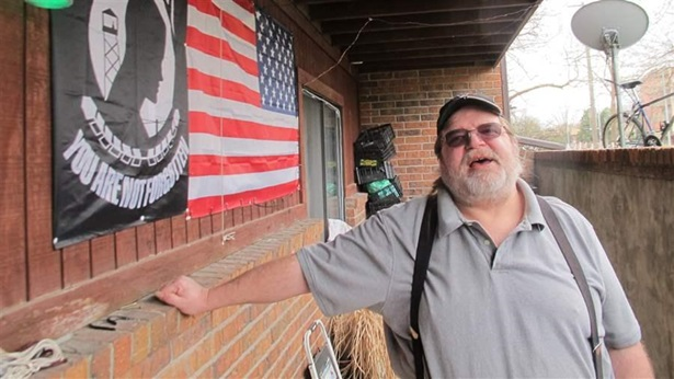 Ronald Tillman, a Navy veteran in Lincoln, Nebraska