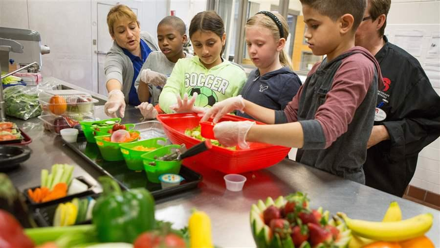 Healthy school eating strategies