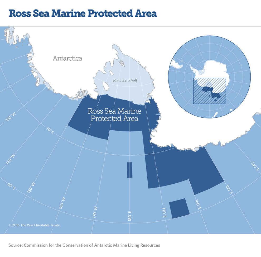 Ross Sea Map