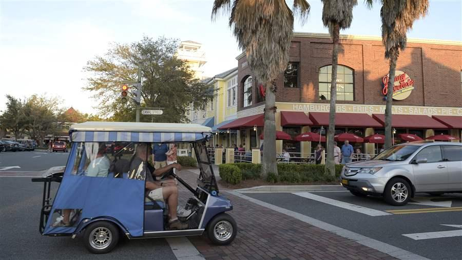 What Happens When Golf Carts Hit The Streets The Pew