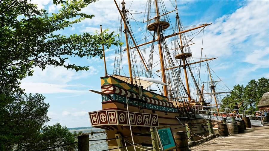 Jamestown ship
