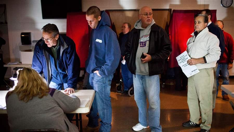 Sandy victims voting