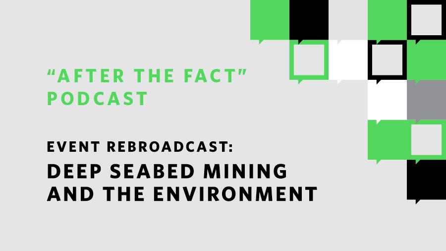 Deep Sea Mining The Basics The Pew Charitable Trusts