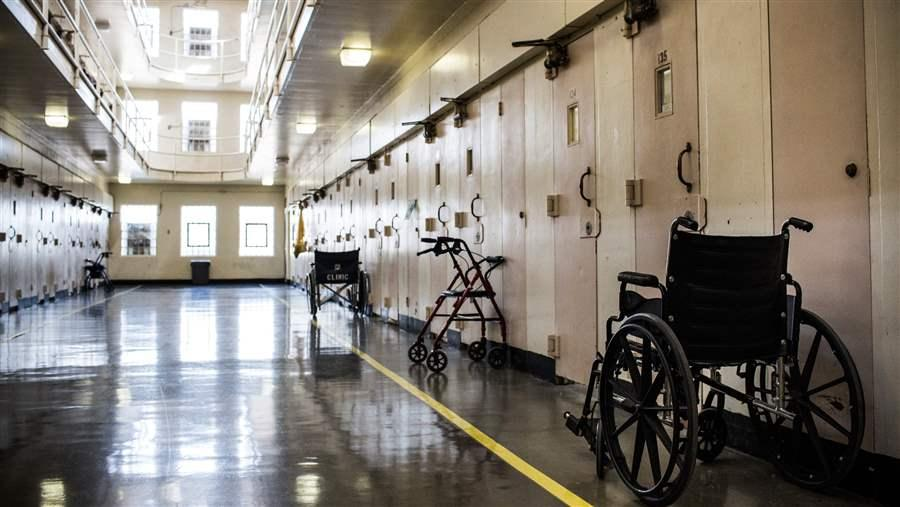 Prison wheelchair