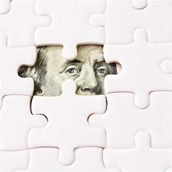 Money jigsaw