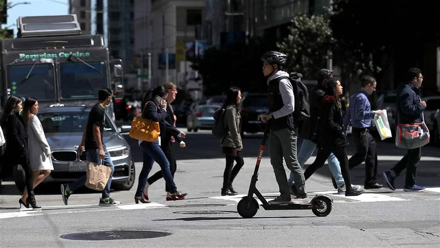 Scooters, Resisted Elsewhere, Face Less Skepticism in the South
